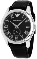 Giorgio Armani AR1703 Men's Classic Black Leather Watch