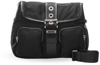 Prada Pre Owned Strap Closure Crossbody Bag