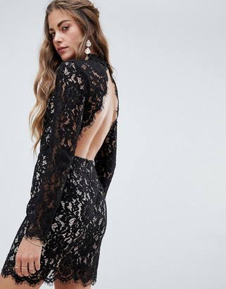 Love & Other Things All Over Lace Dress