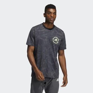 adidas Hockey Tie-Dye Motto Graphic Tee