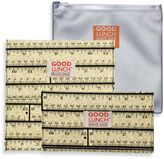 SugarBooger by o.r.e Good Lunch Set of 3 Snack Sack in Ruler