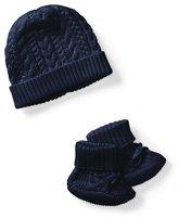 Ralph Lauren Cotton Accessory Set, Navy, Size Newborn-9 Months
