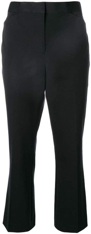 Tory Burch high waisted cropped trousers
