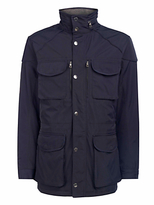 Hackett London Winter Velospeed Coat, Navy