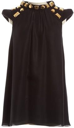 Barbara Bui Black Silk Dress for Women
