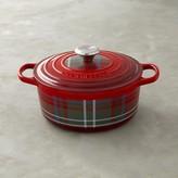 Le Creuset Signature Cast-Iron Tartan Round Dutch Oven
