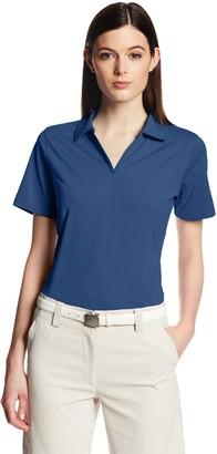 Cutter & Buck Women's Drytec Medina Tonal Stripe Short Sleeve Polo