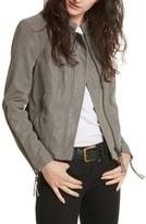 Free People Women's Faux Leather Jacket