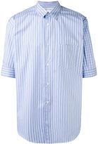 Comme des Garcons shortsleeved striped shirt