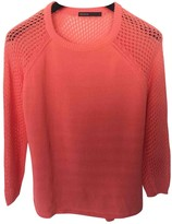 Karen Millen Pink Cotton Knitwear for Women