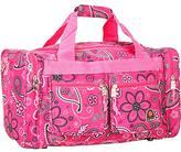 Rockland Bel-Air Pink Bandana 19-inch Carry-on Tote/ Duffel Bag