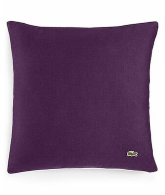 Lacoste Miami Throw Pillow