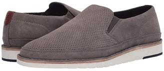 Trask Barnett (Gray English Suede) Men's Shoes