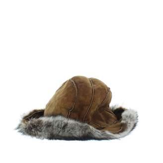 Dolce & Gabbana Brown Suede Hats
