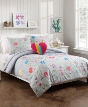 Jessica Simpson Growing Garden 3-Piece Twin Comforter Set Bedding