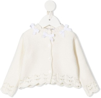 Patachou Knitted Long-Sleeve Top
