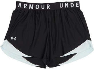 Under Armour Womens Play Up 3.0 Plus Size Shorts Black