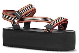 Burberry Women's Patterson Platform Sandals