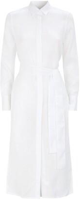 PDN London Sophia Extra Long Shirt Dress