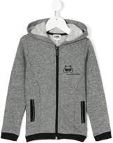 Karl Lagerfeld Choupette zip-up hoodie