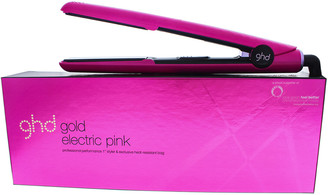 ghd Electric Pink Gold Styler Flat Iron