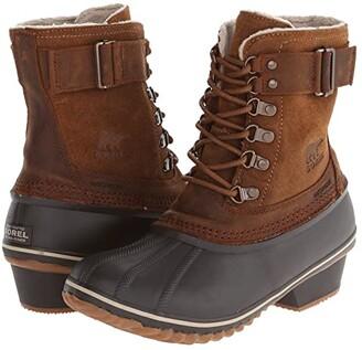 Sorel Winter Fancy Lace II (Elk/Grizzly Bear) Women's Boots