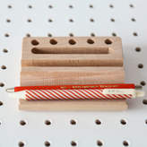STUDY Berylune Wooden Desk Tidy And Pen Holder