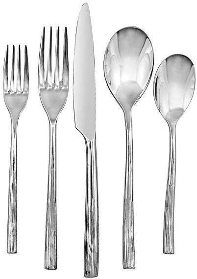 "Cambridge Silversmiths Liana"" 20 Piece Flatware Set"