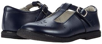 FootMates BTS Sherry (Little Kid/Big Kid) (Navy) Girl's Shoes