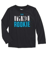Under Armour Toddler Boy's I'M No Rookie Graphic T-Shirt