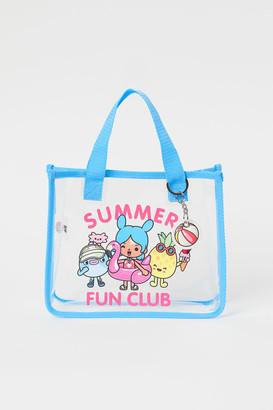 H&M Transparent Bag - Turquoise