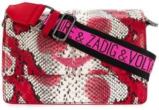 Zadig & Voltaire Zadig&Voltaire snake effect cross body bag