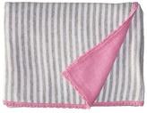 Kate Spade New York Kids Floral Intarsia Blanket Gift Set (Infant)