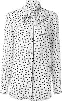 Dolce & Gabbana polka dot blouse - women - Silk - 40