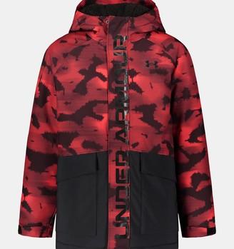 Under Armour Boys' UA Eagleup Printed Jacket