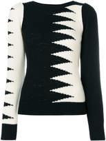 Marc Jacobs zig zag panel top