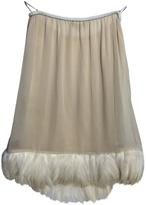 Gucci Silk mid-length skirt
