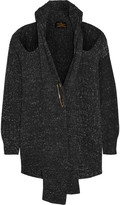 Vivienne Westwood Cutout chunky-knit cotton cardigan