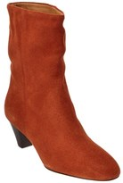 Etoile Isabel Marant Dyna Suede Bootie.