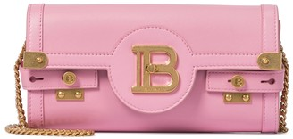Balmain B-Buzz 23 Small leather crossbody bag