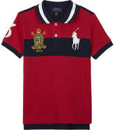 Ralph Lauren Embroidered crest cotton polo shirt 2-7 years