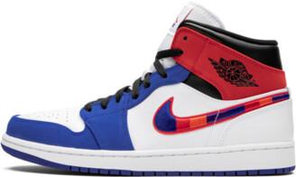 Jordan Air Mid 1 'Multicolor Swoosh' Shoes - 7.5