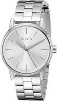 Nixon Women's A3611920 Small Kensington Stainless Steel Watch with Link Bracelet