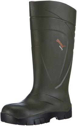Dunlop Unisex Adults PURFECT GS-LAARS S5 Unlined Rubber Boots Long Shaft Boots & Bootees Green Size: 7 UK