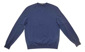Ermenegildo Zegna Navy Cotton Knitwear & Sweatshirts