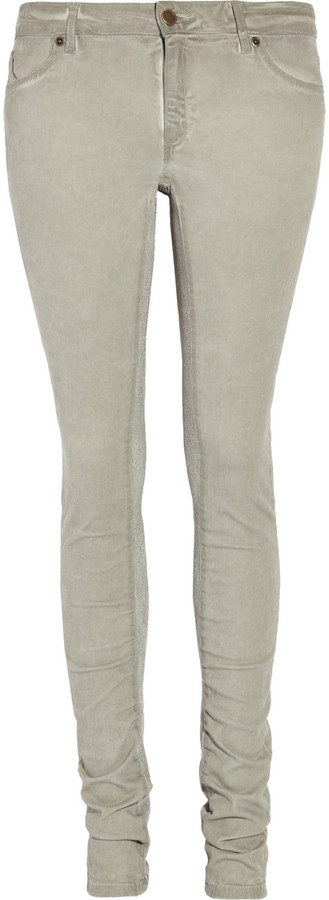 Superfine Low-rise leggings-style jeans