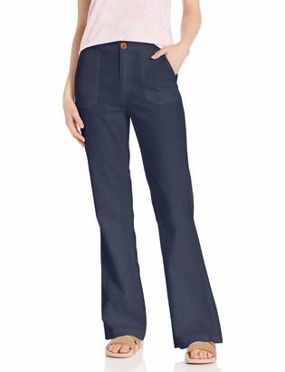 Roxy Womens Oceanside High Waisted Beach Casual Pants