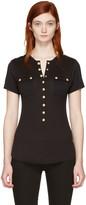 Balmain Black Pockets T-shirt