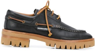 DSQUARED2 Chunky Sole Lace-Up Shoes