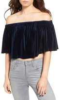 The Fifth Label The Seeker Off the Shoulder Crop Top